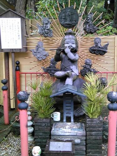 須磨寺のきんぽとん童子