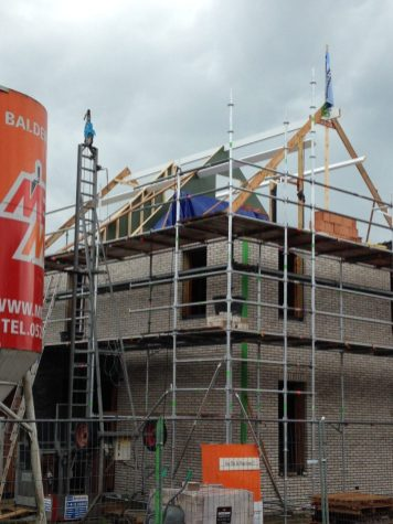 bouw dak woning