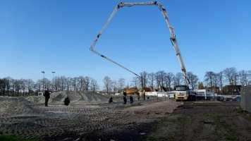 start van de bouw