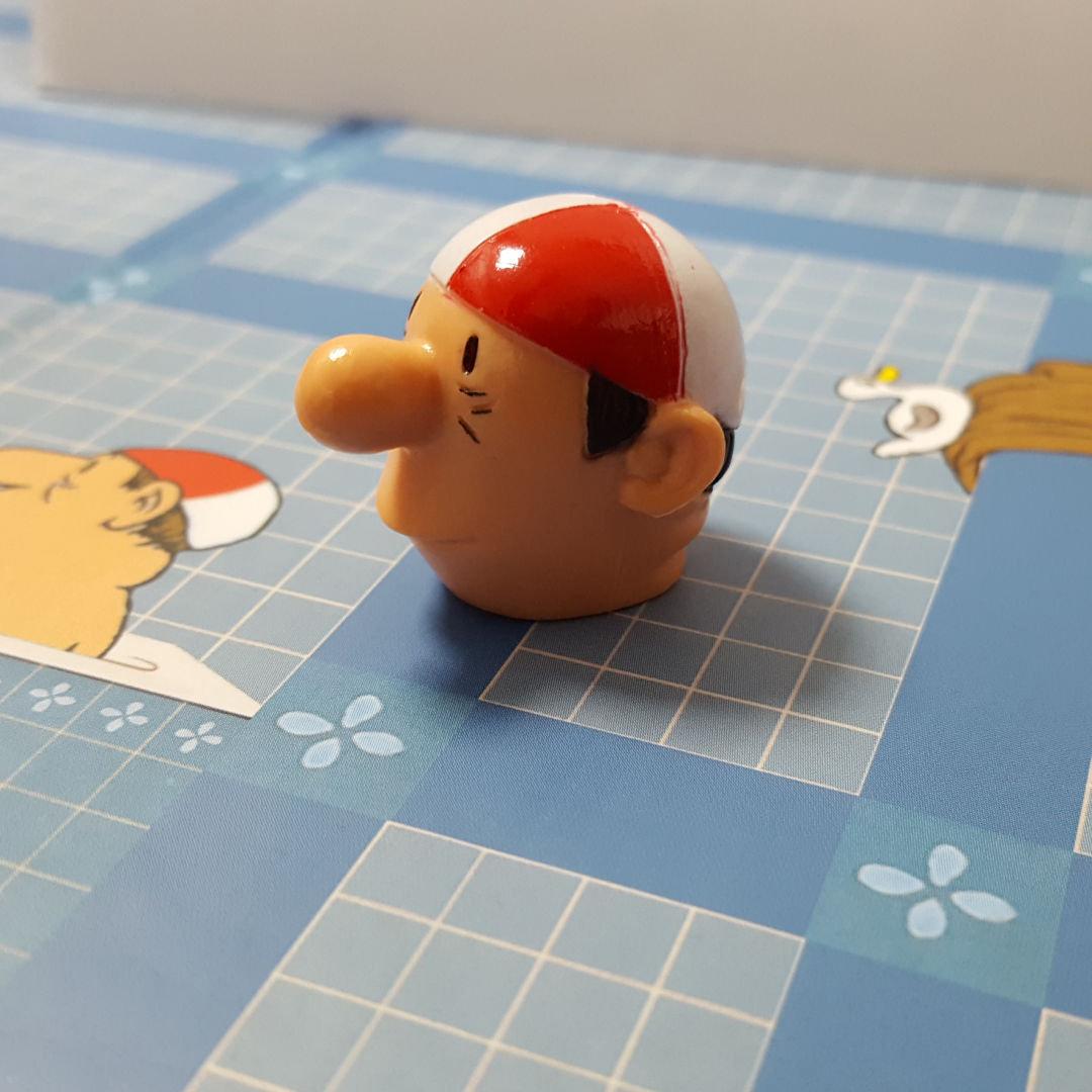 Loriot Mhle Brettspiel Herren im Bad Spielbrett mit 3D