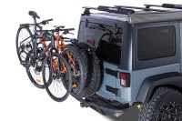 Jeep Spare Tire Bike Rack