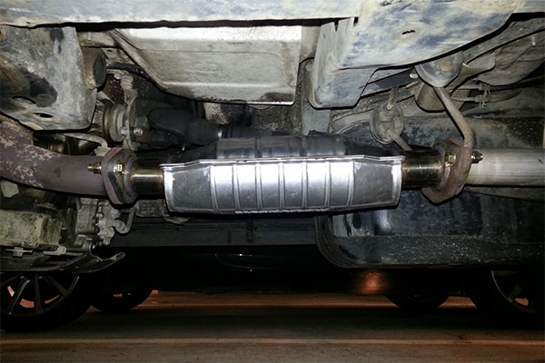 1992 Toyota 4runner Exhaust System