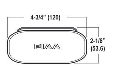 PIAA 2100 Driving Lights, PIAA 2100 Series Fog Lights