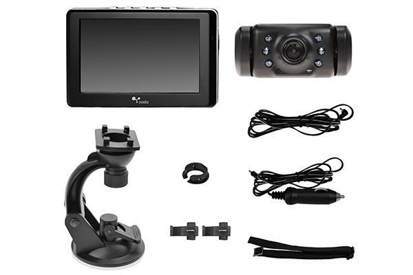 Yada Dash Monitor Wireless Backup Camera System BT53328 M-1