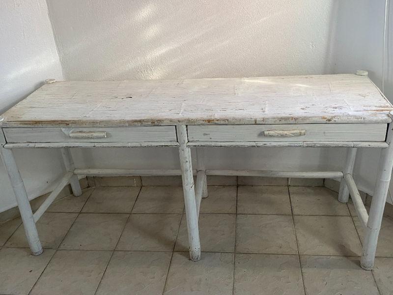 bureau bambou meubles et decoration