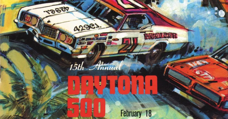 Check out every Daytona 500 program from 1959 to 2016 | FOX Sports