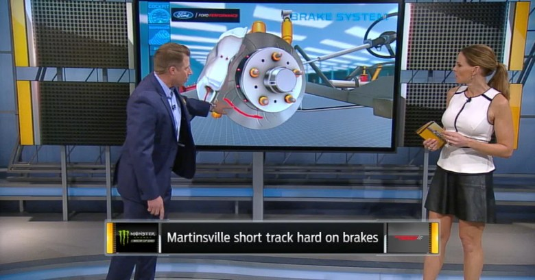 'Race Hub' tackles breaking down brakes at Martinsville | FOX Sports