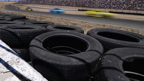 Stack the tires up