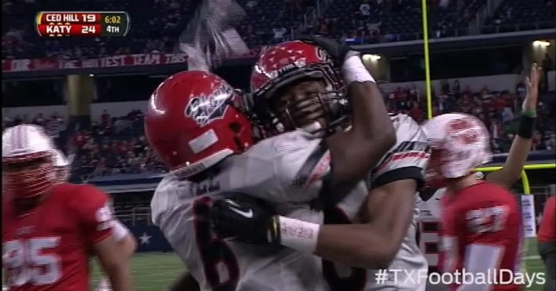 Cedar Hill tightrope touchdown vs. Katy - Texas Football Days Classics | FOX Sports