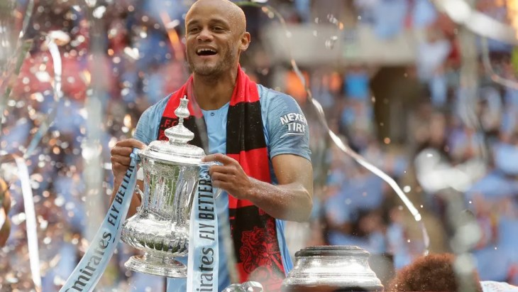 Image result for KOMPANY STAT EMERGES AFTER HE ANNOUNCES MAN CITY DEPARTURE