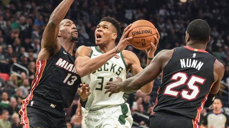 Miami Heat 131, Milwaukee Bucks 126 (OT)