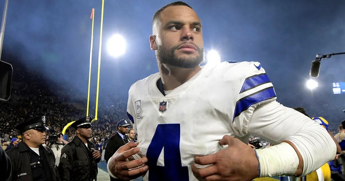 Skip Bayless: McNabb wants Dallas to pay Dak to sabotage the Cowboys' salary cap (VIDEO) thumbnail