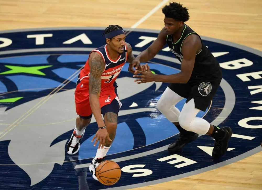 Wolves can't stop Beal, Wizards in 130-109 loss   FOX Sports