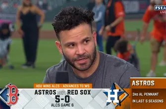 José Altuve praises teammates after Astros punch ticket to World Series