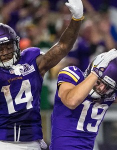 also vikings  diggs thielen rated as top wr duo in madden rh foxsports