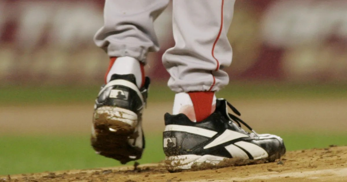 What Schillings Ankle Looked Like At Infamous Bloody Sock Game FOX Sports