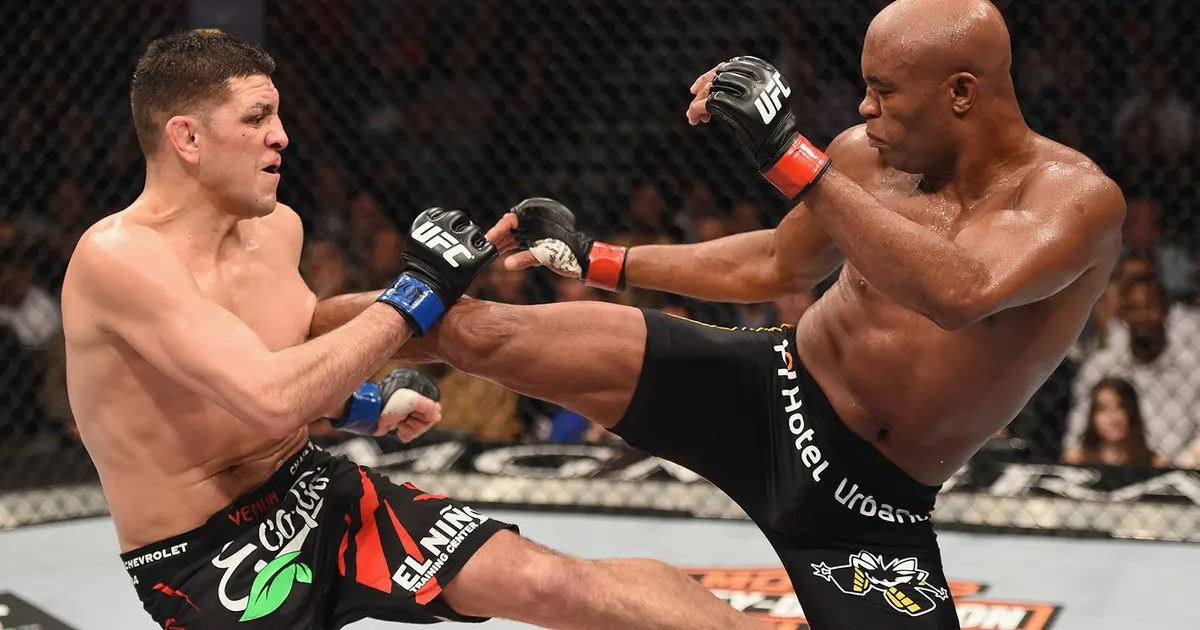 Anderson Silva wants to compete in 2016 Olympic Games  FOX Sports