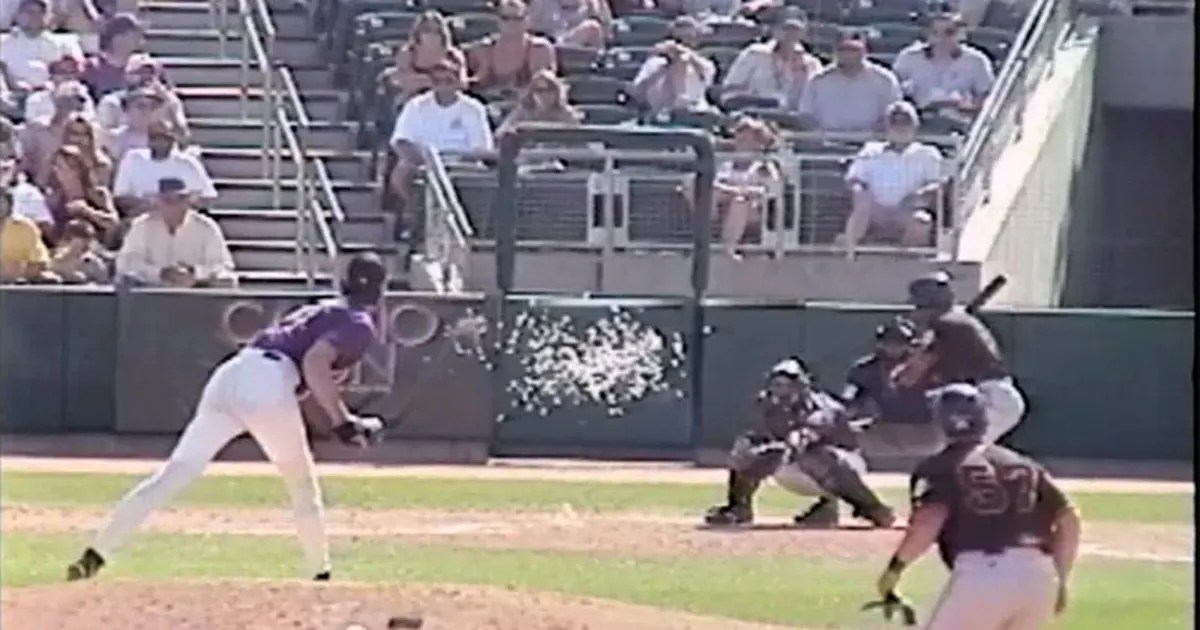 15 years ago today Randy Johnson ended a birds life with a fastball  FOX Sports