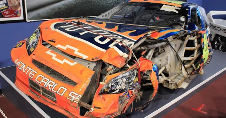The car Jeff Gordon destroyed at Pocono in 2006 is for sale   FOX Sports
