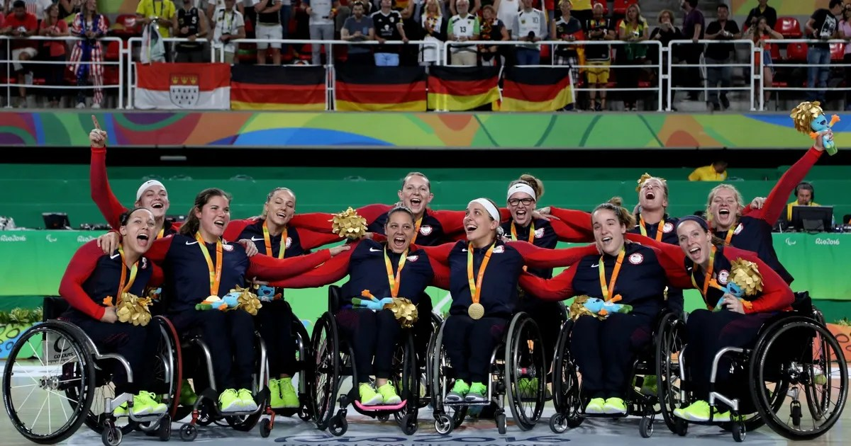 wheelchair olympics sears lounge chairs usa women s basketball wins paralympic gold in rio fox sports