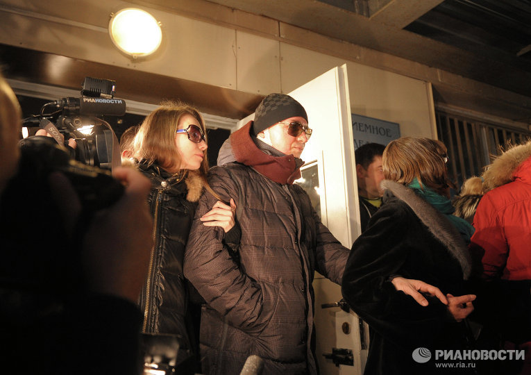 Artistic director of the Bolshoi Ballet S. Filin was discharged from the 36th hospital
