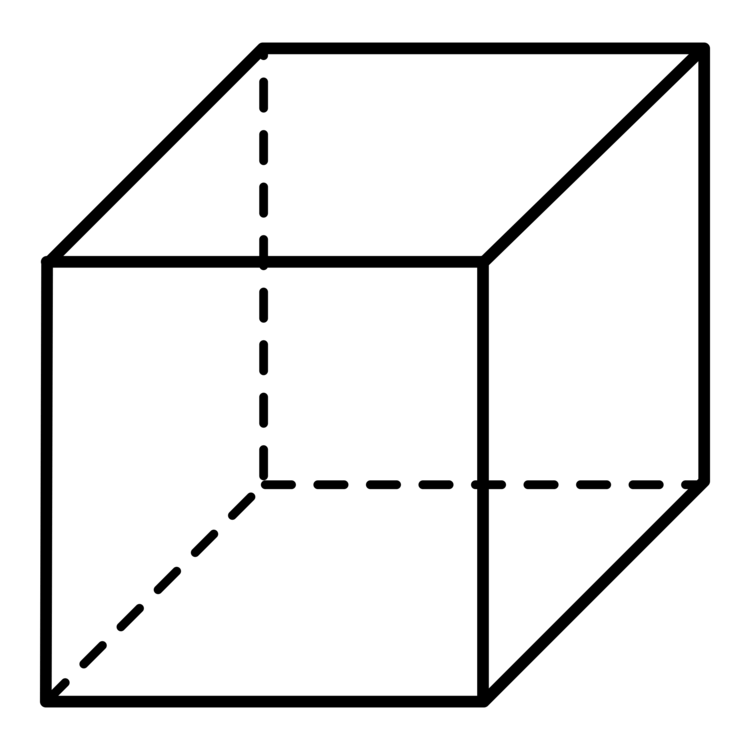 Cube Shape Three-dimensional space Net Computer Icons CC0