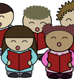 christian clip art children s choir singing [ 1068 x 750 Pixel ]