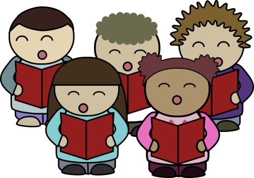 small resolution of christian clip art children s choir singing