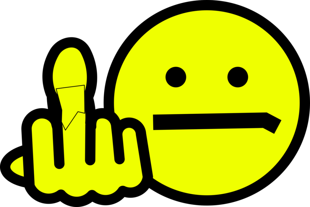 medium resolution of smiley emoticon computer icons middle finger