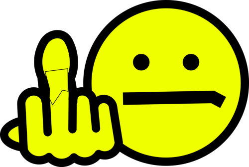 small resolution of smiley emoticon computer icons middle finger