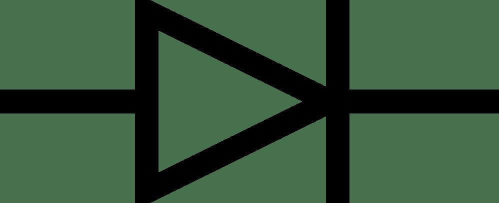 medium resolution of light emitting diode electronic symbol electronics electronic component