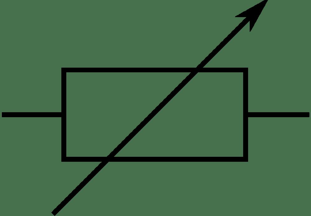 medium resolution of electronic symbol potentiometer resistor electronic circuit electronic component