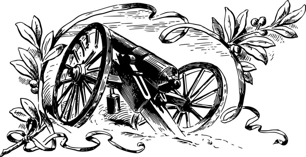 medium resolution of american civil war cannon artillery battle of gettysburg weapon free png 1460x750 civil war clipart background