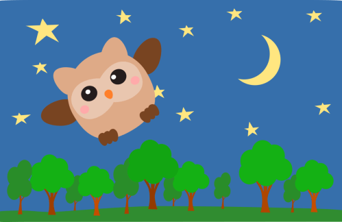 small resolution of owl night sky computer