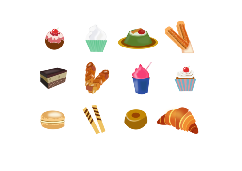 small resolution of churro computer icons dessert food confectionery