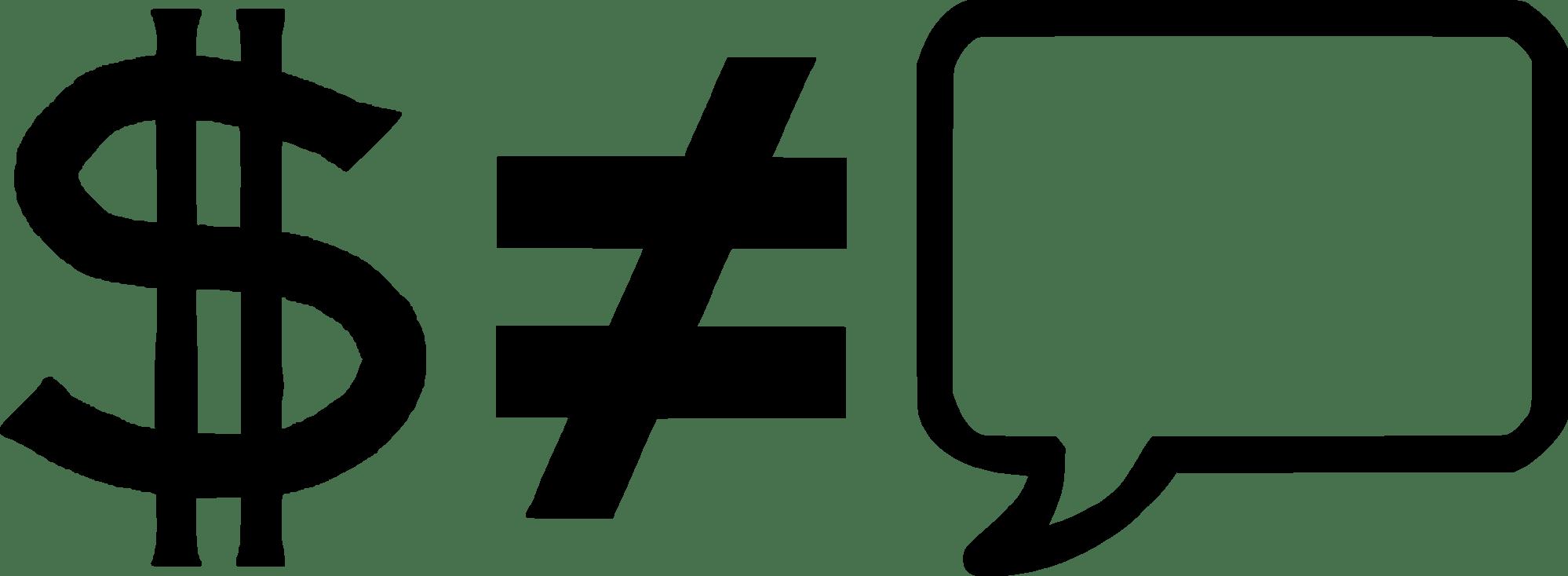 hight resolution of ongelijkheidsteken equals sign symbol logo
