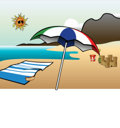 summer vacation season can stock photo computer icons [ 1144 x 750 Pixel ]