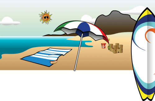 small resolution of summer vacation season can stock photo computer icons