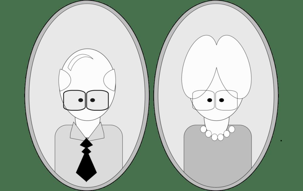 medium resolution of grandparent cartoon drawing animated series