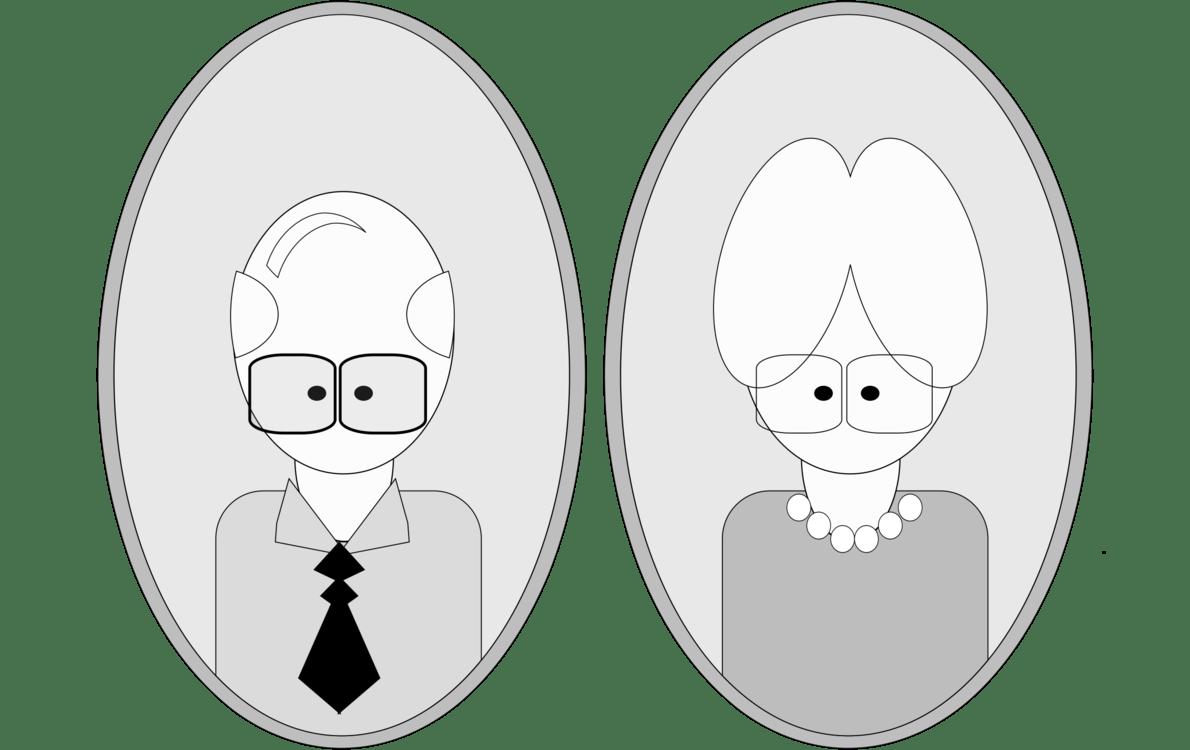 hight resolution of grandparent cartoon drawing animated series