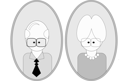 small resolution of grandparent cartoon drawing animated series