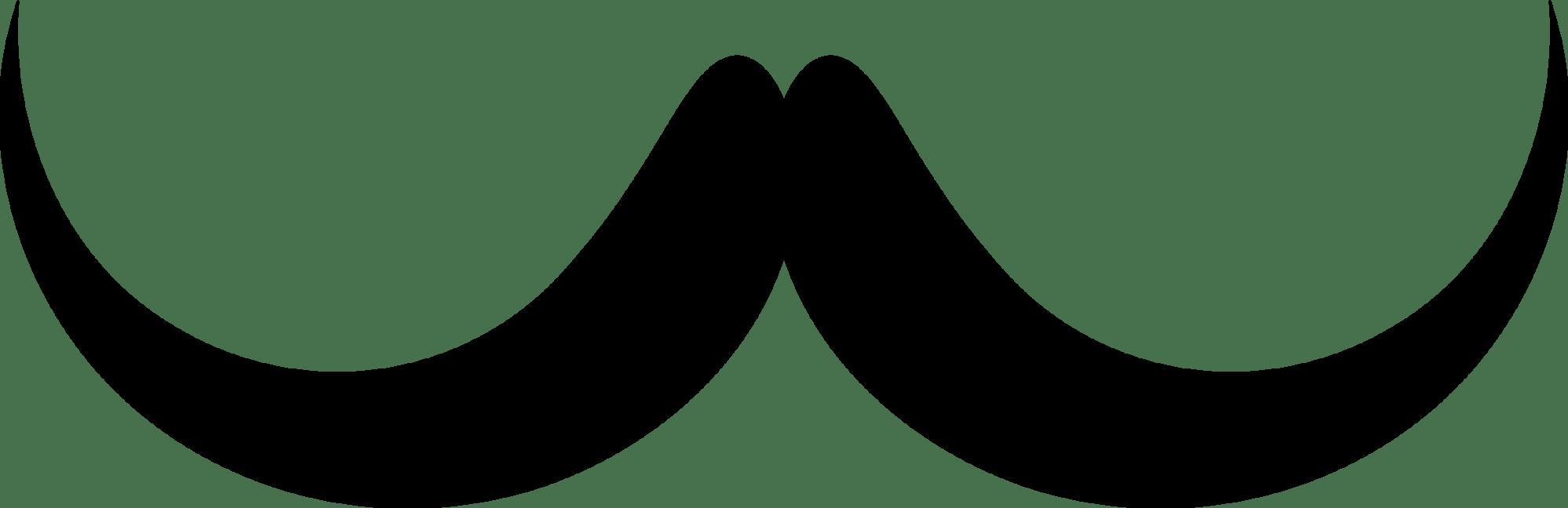 hight resolution of handlebar moustache silhouette brown hair beard