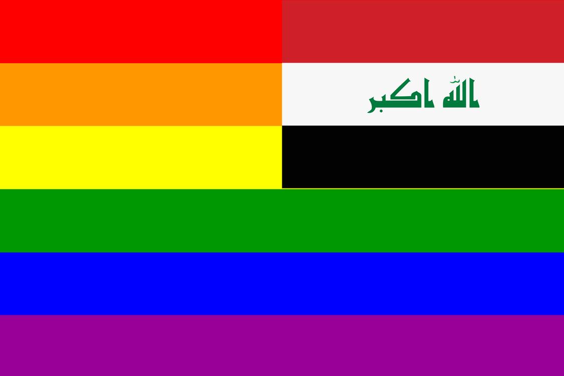 hight resolution of flag of iraq rainbow flag homosexuality
