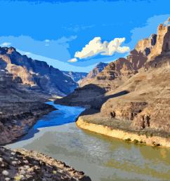 grand canyon village colorado river [ 1332 x 750 Pixel ]