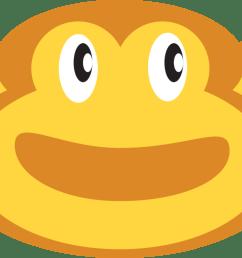 smiley emoticon monkey face [ 1116 x 750 Pixel ]