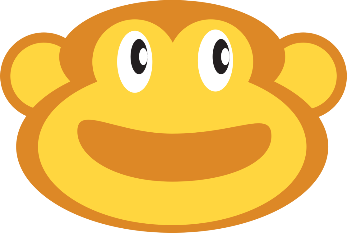 hight resolution of smiley emoticon monkey face