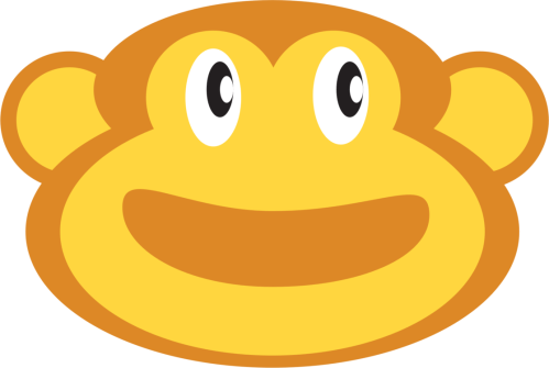 small resolution of smiley emoticon monkey face