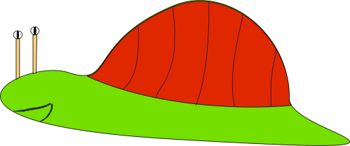 small resolution of hat animal snail others line angle