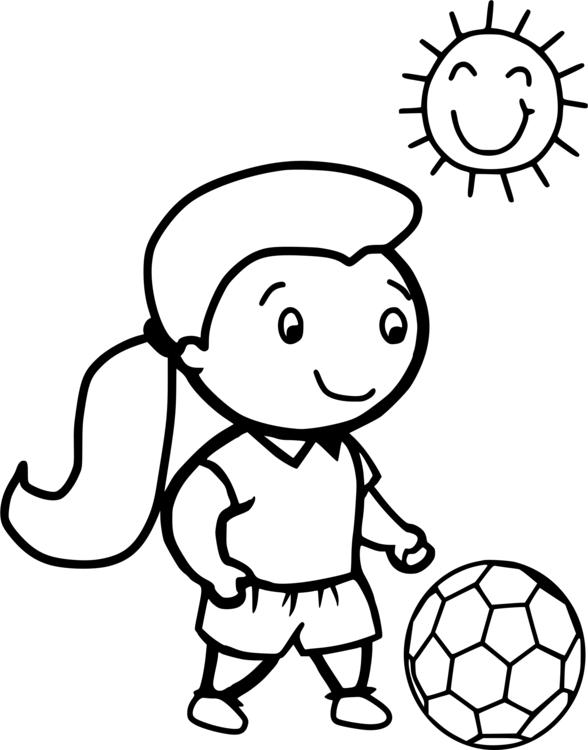 Coloring book Football player Colouring Pages CC0