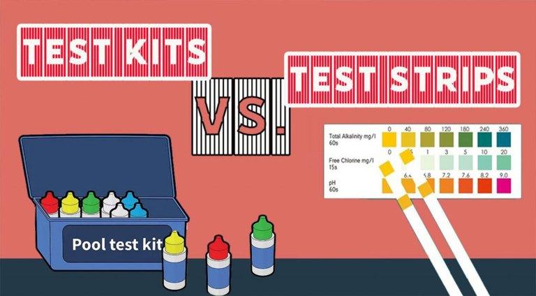 pool water testing kits strips